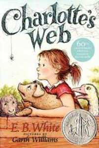 Charlotte's Web - E B White,Kate DiCamillo - cover