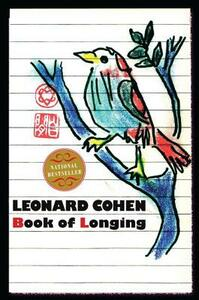 Book of Longing - Leonard Cohen - cover
