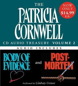 Patricia Cornwell CD Audio Treasury Volume Two Low Price: Includes Body of Evidence and Post Mortem - Patricia Cornwell - cover