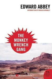 Monkey Wrench Gang, the - Edward Abbey - cover