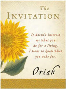 The Invitation - Oriah - cover