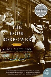 The Book Borrower - Alice Mattison - cover