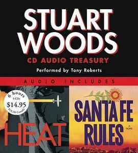 Stuart Woods Audio Treasury: Santa Fe Rules and Heat - Stuart Woods - cover