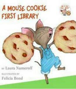 A Mouse Cookie First Library - Laura Joffe Numeroff - cover