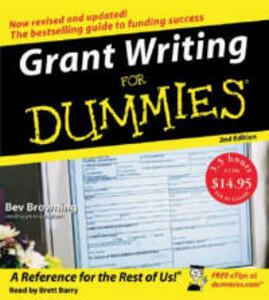 Grant Writing for Dummies - Beverly Browning - cover