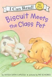 Biscuit Meets the Class Pet - Alyssa Satin Capucilli - cover