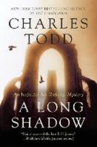 A Long Shadow: An Inspector Ian Rutledge Mystery - Charles Todd - cover