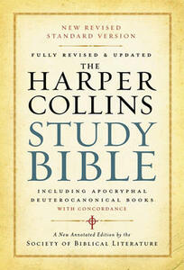 The HarperCollins Study Bible: Fully Revised With Concordance - Harold W. Attridge - cover