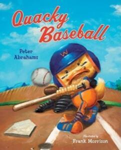 Quacky Baseball - Peter Abrahams - cover