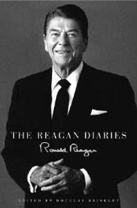 THE REAGAN DIAIRES EXTENDED SELECTIONS UNABRIDGED - Ronald Reagan - cover