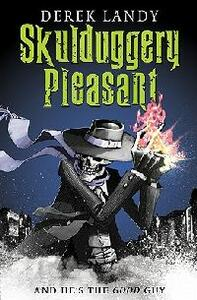 Skulduggery Pleasant - Derek Landy - cover
