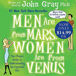 Men Are from Mars, Women Are from Venus - John Gray - cover