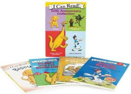 I Can Read 50Th Anniversary Box Set - Various - cover