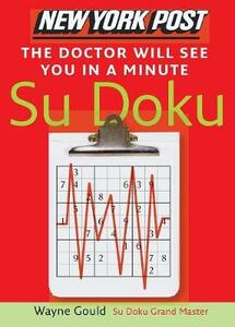 Doctor will see you in a Minute Sudoku - Wayne Gould - cover