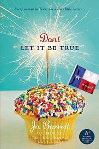 Don't Let It Be True - Jo Barrett - cover