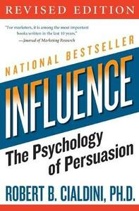influence: The Psychology of Persuasion - Robert B. Cialdini - cover