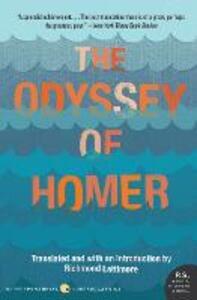 The Odyssey of Homer - Richmond Lattimore - cover
