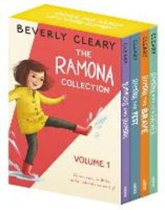 The Ramona Collection, Volume 1: Beezus and Ramona, Ramona and Her Father, Ramona the Brave, Ramona the Pest - Beverly Cleary - cover
