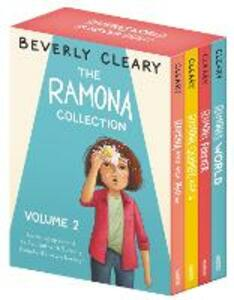 The Ramona Collection, Volume 2: Ramona and Her Mother; Ramona Quimby, Age 8; Ramona Forever; Ramona's World - Beverly Cleary - cover