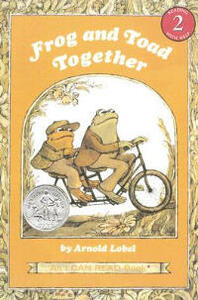 Frog and Toad Together Book and CD - Arnold Lobel - cover