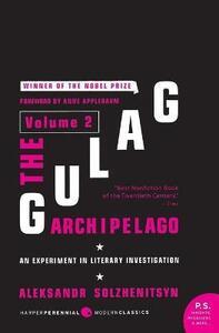 The Gulag Archipelago - Aleksandr Solzhenitsyn - cover