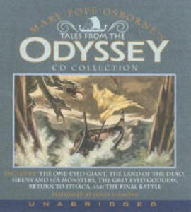 Tales From the Odyssey Unabridged CD Collection 7/480 - Mary Pope Osborne - cover