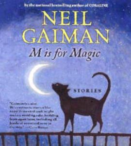 M Is for Magic CD - Neil Gaiman - cover