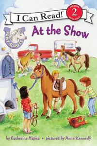 Pony Scouts: At the Show - Catherine Hapka - cover