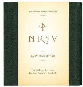 NRSV XL, Catholic Edition, Hardcover, Green - cover