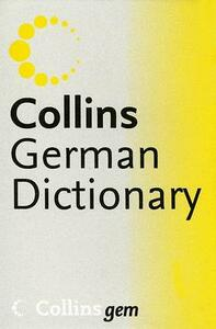 Collins German Dictionary - Harpercollins Publishers - cover