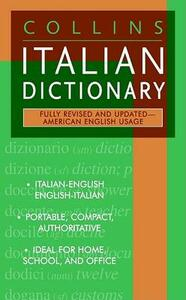 Collins Italian Dictionary: American English Usage - Harpercollins Publishers - cover