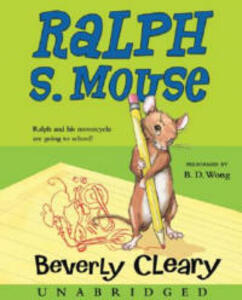 Ralph S. Mouse - Beverly Cleary - cover