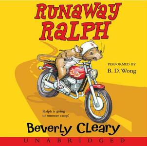 Runaway Ralph - Beverly Cleary - cover