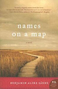 Names on a Map - Benjamin Alire Saenz - cover