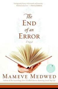 The End of an Error - Mameve Medwed - cover