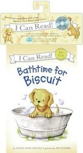 Bathtime for Biscuit Book and CD - Alyssa Satin Capucilli - cover