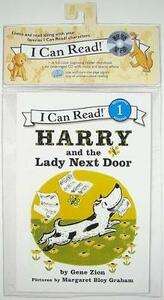 Harry and the Lady Next Door Book and Cd - Gene Zion - cover