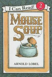 Mouse Soup Book and CD - Arnold Lobel - cover