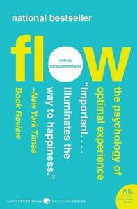 Flow: The Psychology of Optimal Experience - Mihaly Csikszentmihalyi - cover