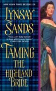 Taming the Highland Bride - Lynsay Sands - cover