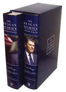 The Reagan Diaries Unabridged: Volume 1: January 1981-October 1985 Volume 2: November 1985-January 1989 - Ronald Reagan - cover