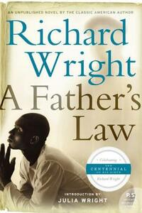 A Father's Law - Richard Wright - cover