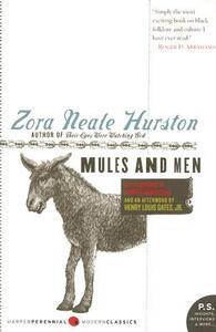 Mules and Men - Zora Neale Hurston - cover