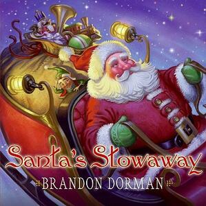 Santa's Stowaway - Brandon Dorman - cover