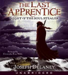 Last Apprentice: Night of the Soul Stealer (Book 3) CD - Joseph Delaney - cover