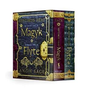 Septimus Heap 2 Volume Boxed Set: Magyk/Flyte - Angie Sage - cover
