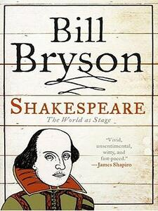 Shakespeare: The World as a Stage - Bill Bryson - cover