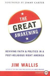 The Great Awakening Lp - Jim Wallis - cover