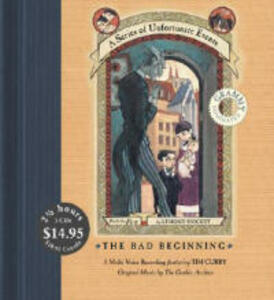 The Bad Beginning - Lemony Snicket - cover