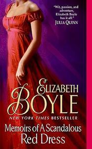 Memoirs of a Scandalous Red Dress - Elizabeth Boyle - cover